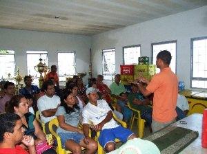 Palestra em Lagoa Santa MG, Criação do Centro de Formação de Atletas do Lagoa Santa CEFALS 2009