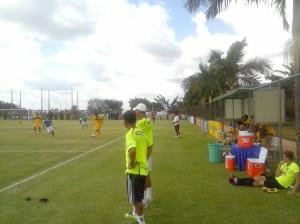 Toca da Raposa II Cruzeiro x Minas Boca Amistoso Jogo treino 15/02/2016