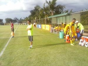Toca da Raposa II Jogo treino Cruzeiro x Minas Boca