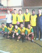 Equipe de Futsal junho de 2012