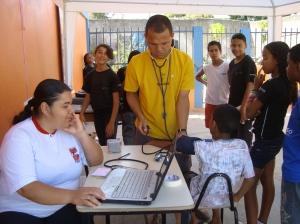 Tenda Saúde Projeto Agita Ratecos 2010