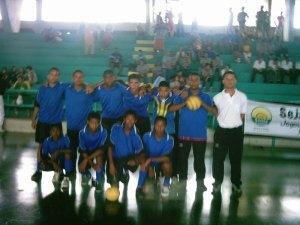 Seleção de Futsal Santa Luzia - E.E Leonina Mourthé