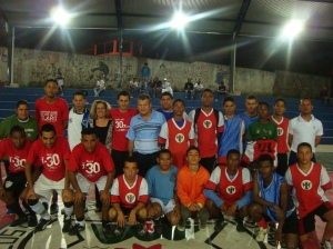 Final do Torneio de futsal do Ratecos 2010