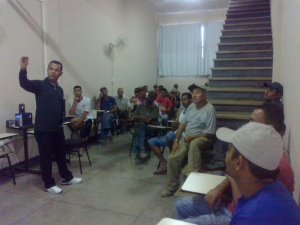 Palestra Atividade Física, Saúde e Qualidade de Vida - Cerâmica Jacarandá - Ribeirão das Neves - MG