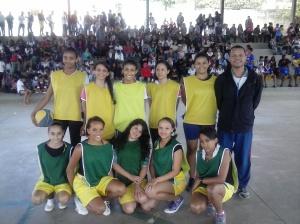 Equipe 901 Amarelo e 804 Verde