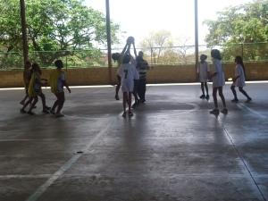 Inicio do Jogo Basquetebol Mód. I