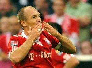 Arjen Robben - Meia Atacante do Bayern