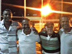 Serjão Presidente, Prefeito Carlos Murta, Paulinho Vice - Presidente, Nino Severiano