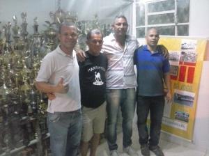 Nino Severiano, Buião, Serjão Presidente, e Léo Diretor