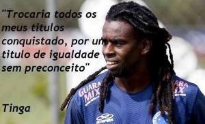 A melhor frase de um Futebolista a respeito do racismo