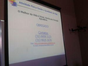 Palestra em Cerâmica Jacarandá 29/04/2014 Semana da Saúde do Trabalhador