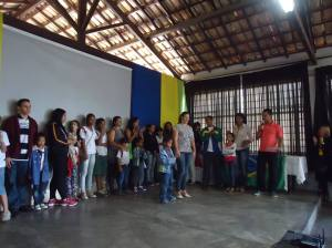 Premiação aos Vencedores do Concurso com Mônica Cordenadora Pedagógica da rede