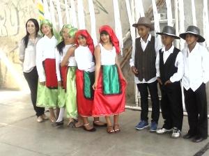 Equipe de Dança Portugal 1º Lugar do Festival