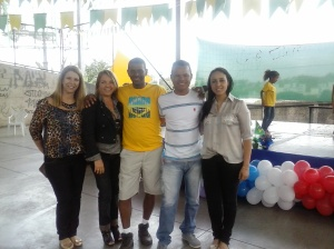 Renata Supervisora da Escola, Vânia Reis, Anderson Teles, Nayara Sena