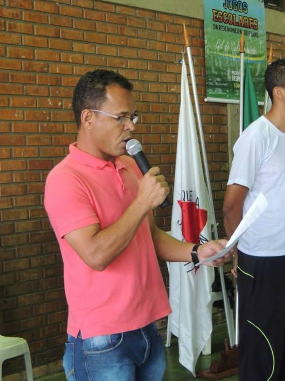 Abertura dos Jogos Escolares Gol da Cidadania 2014 Vespasiano - MG